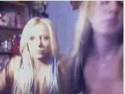 2 Girls playing on cam