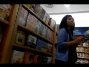 Grey Panty at Gramedia PTC Surabaya, Indonesia