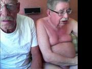 grandpa couple show on cam