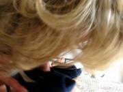 elle me branle avec ses escarpins zara bleus