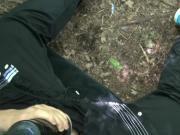 Flashlight geil abgespritzt cumshot