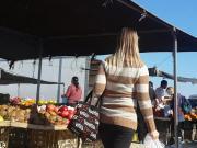 Israel. At the farmer's market.