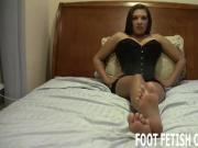 Shoot your cum all over my feet
