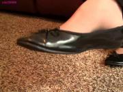 Caroline pantyhose black flats shoeplay preview