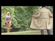 Funny dickflash in public