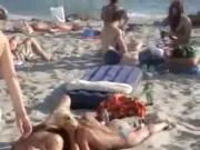 Public Blowjob on the Beach