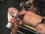 Female Bodybuilder Nathalie Looks Amazing