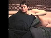 My ex-fiancee and I having sex in the bedroom