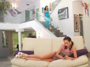Young Horny Teen Belle Knox Gets Gangbanged 420