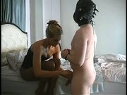 Madeline is wicked - Milking his prostate the second session