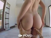 POVD - Cute Dakota Skye begs for a cum cannon to her face