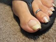 Nails in Flop Flops