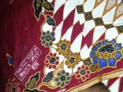 cum on Aunty's lungi Textil Motif Batik AYU 526