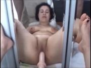 Fatma best of fuck dildo