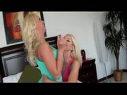 Two hot blondes, girl time with Sammie & Molly