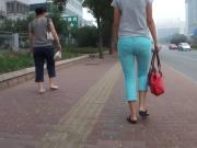 lady walking very well