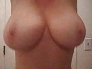 Strip Tease 38 F big Natural boobs for your cum...