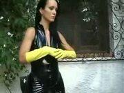 Slave is punished