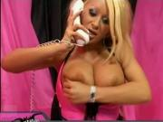 Tixie: Hot Fake Tit Bimbo