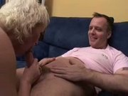 British slut Rebecca gets fucked on the sofa
