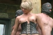 Clubdom Mistress With Two Slaves