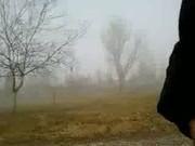 In foggy day I cum in a park 2
