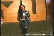 Crazy spandex babe teasing sex