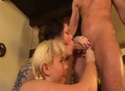 Chubby Titty Girl Nora Fucking In a Party