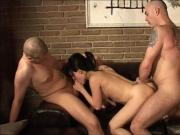 Danish Bine in another threesome