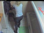 Voyeur webcam nude girl in solarium part7