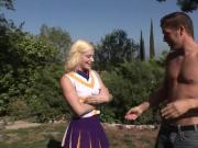 Bang The Blonde Cheerleader