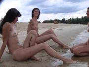 Summer last year. On a warm day this young beauty nudists ap