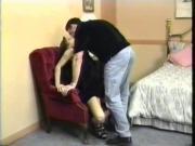 Small breasted slut rides cock