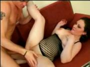 Chubby GF fucking and getting cum on her Tits-P2
