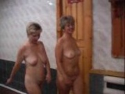 Russian sluts fucked in sauna