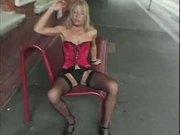 Horny blonde gets DP'd -but good