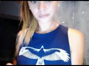 Stunning Teen Takes A Soapy Bath On Webcam