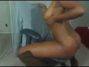 Horny Ebony Teasing, Spreading, Sucking, Fingering, Cumming