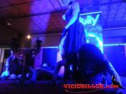 Show de Jully Caldas con Senor Filth en SEV 2013