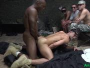 Inked military hunk analfucked reversecowboy