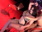 Pamela Sanchez y Nikki Little con espontaneos en el FEDA