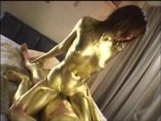 Gold Paint Dust 1