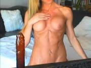Sexy In Shape Milf Dildos Pussy