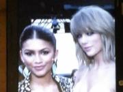 Zendaya and Taylor Swift Cum Tribute