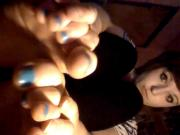 Nicole2020 - Playing with my toes pt.1