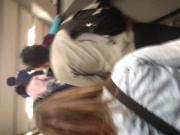 muestra en el metro