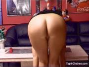 Jessica Dirty PVC Fetish Slut.