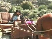 Amish Guy fucked a Ebony Outdoor