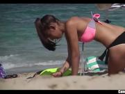Topless Beach Girls Candid Voyeur HD Spycam Video