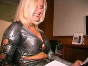 Porno auditie, blonde milf & short hair Nederland Dutch